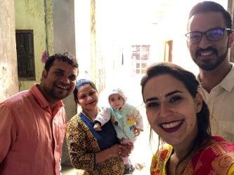 A selfie in Pushkar