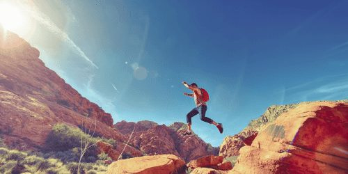 Live Your Dream Life by jumping straight in