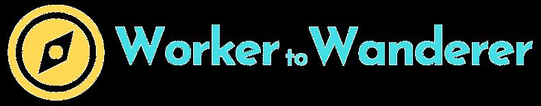 Worker to Wanderer Logo Transparent
