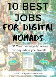 Digital Nomad Jobs that make money