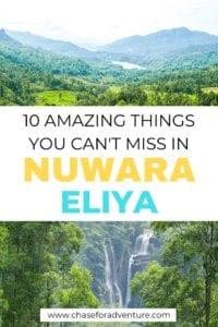 Things to do in Nuwara Eliya Sri Lanka