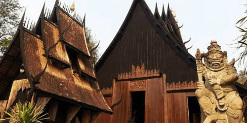 Best Places in Thailand The Black House in Chiang Rai Thailand
