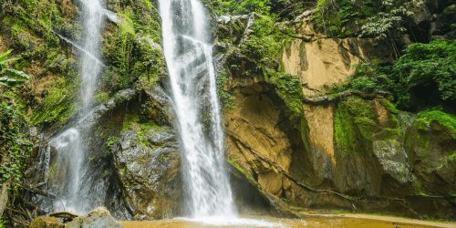 Mok Fa Waterfall in Pai Thailand