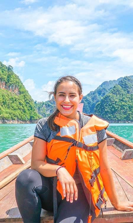 Annette Fortner headshot at Khao Sok National Park