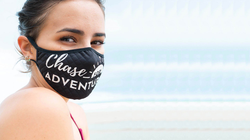 Chase for Adventure Travel Face Mask