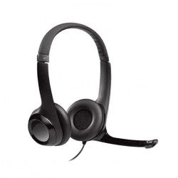Headset with Microphone Used for teaching English Online