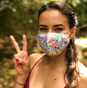 Chase for Adventure Travel Mask Around the World
