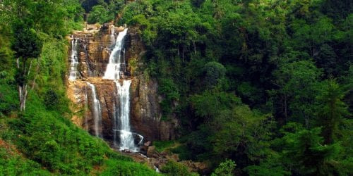 Ramboda Waterfall Things to do in Nuwara Eliya, Sri Lanka