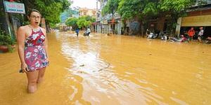 Why Travel Insurance is Important mudslide in Ha Giang Loop