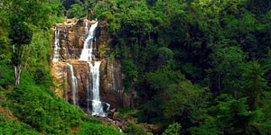 Ramboda Waterfall Things to do in Nuwara Eliya, Sri Lanka