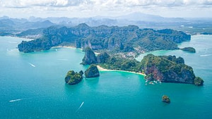 Railay Beach Thailand on Chase Your Adventure Tours Thailand