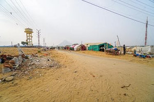 The desert in Pushkar India