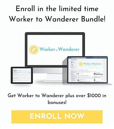 Worker to Wanderer Digital Nomad Bundle