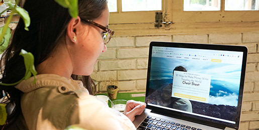 Annette from Chase for Adventure working in Hanoi as a digital nomad